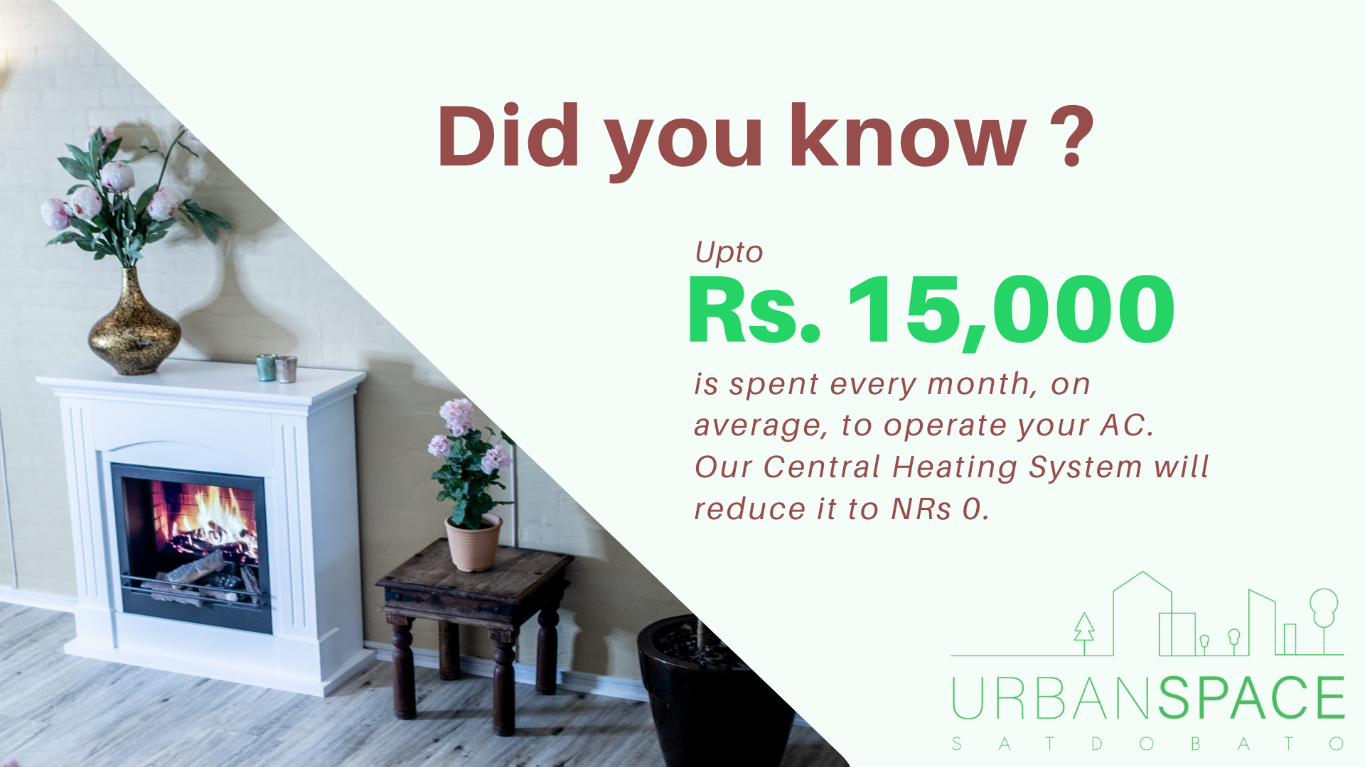 Central Heating | The Urban Space | First Time in Nepal | Urban Space Nepal